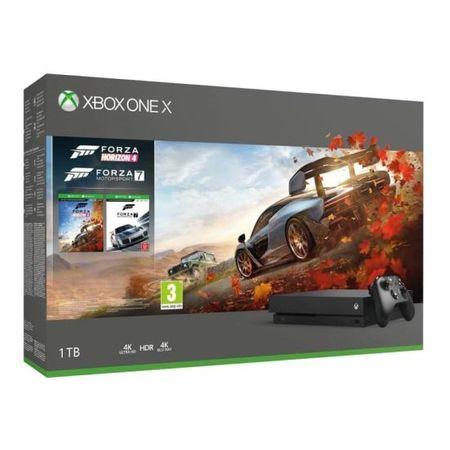Konsola Xbox One X + 2 gry w ratach 10x0% za 1513 zł