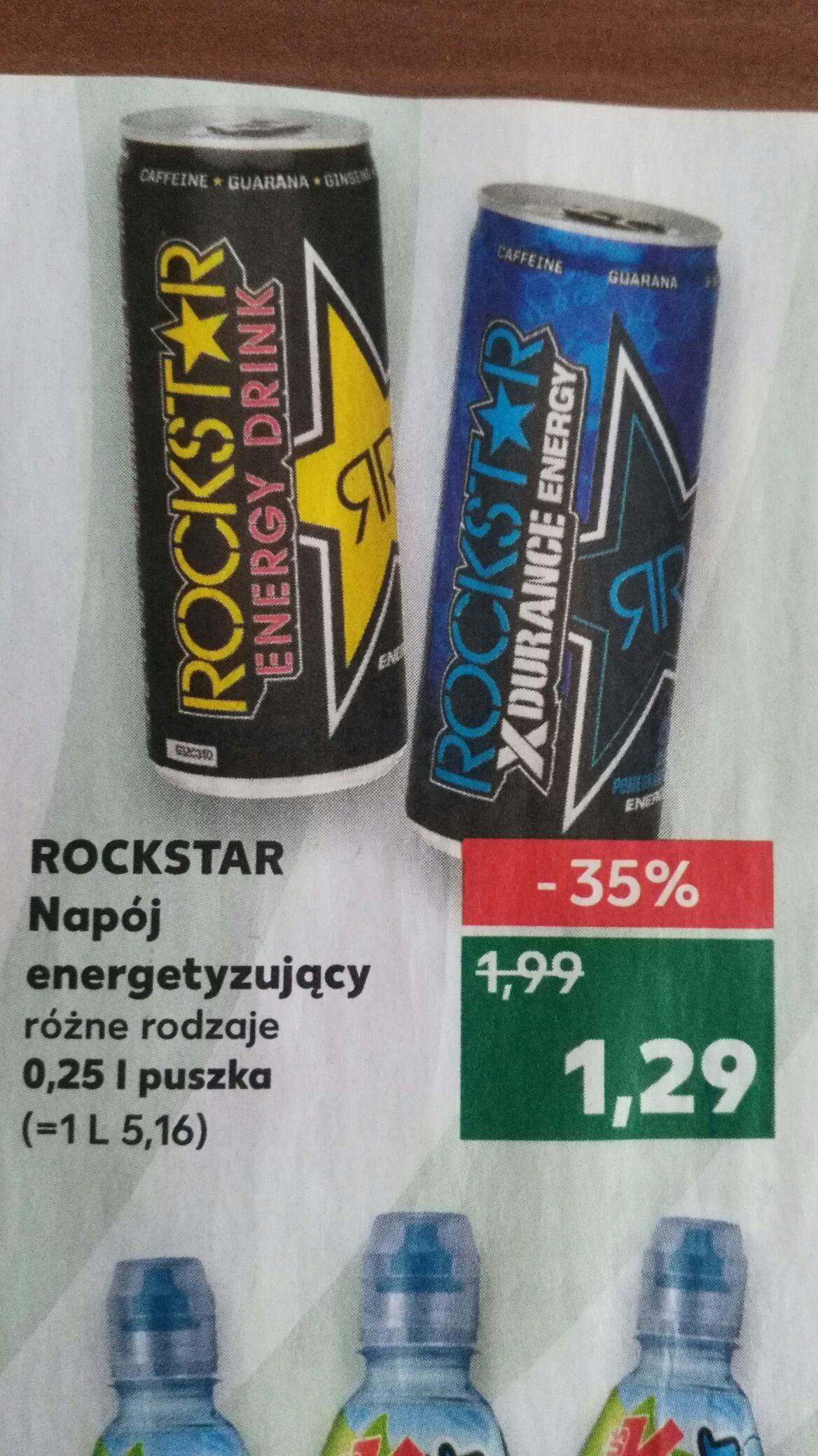 Energetyk Rockstar i inne smaki w Kaufland