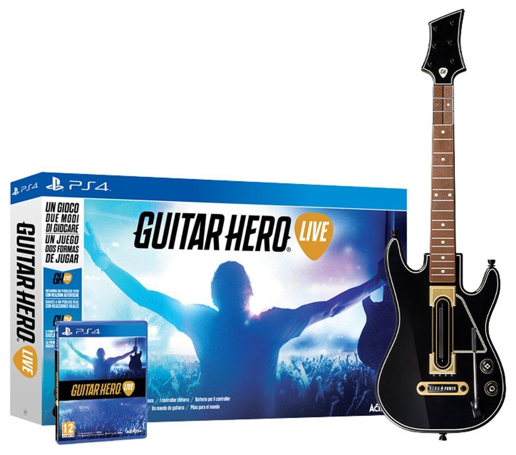 Guitar Hero Live gra+gitara [PS3/4, Xbox 360/One, Wii U, iOS) za 195zł z dostawą! @ Amazon.es