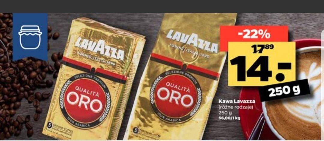 Kawa Lavazza 250g ( różne rodzaje) NETTO