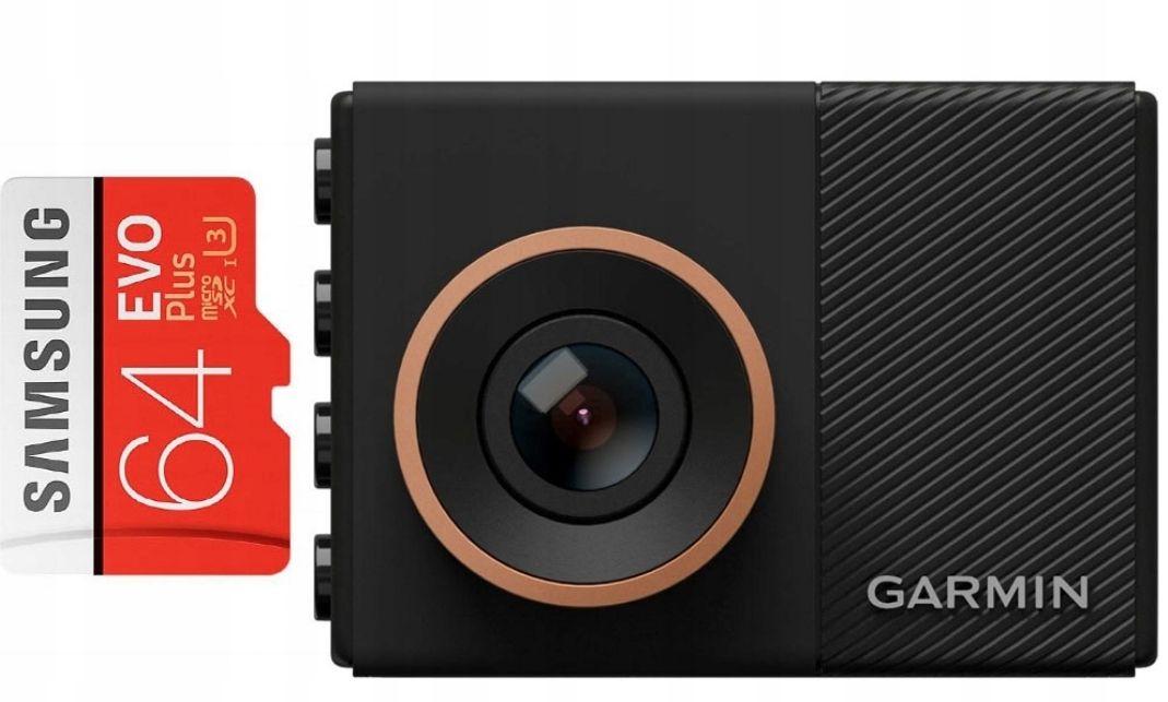Wideorejestrator Garmin DashCam 55 + karta 64 GB