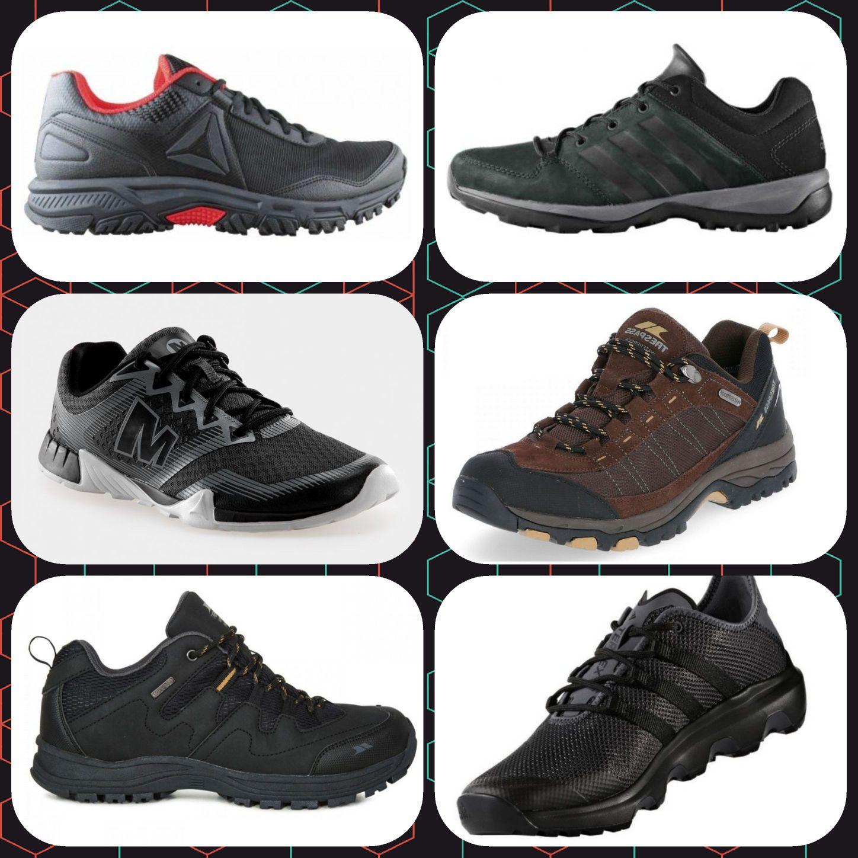 KOMPILACJA: Buty trekkingowe. Męskie. MERRELL, REGATTA, TRESPASS, ADIDAS, REEBOK