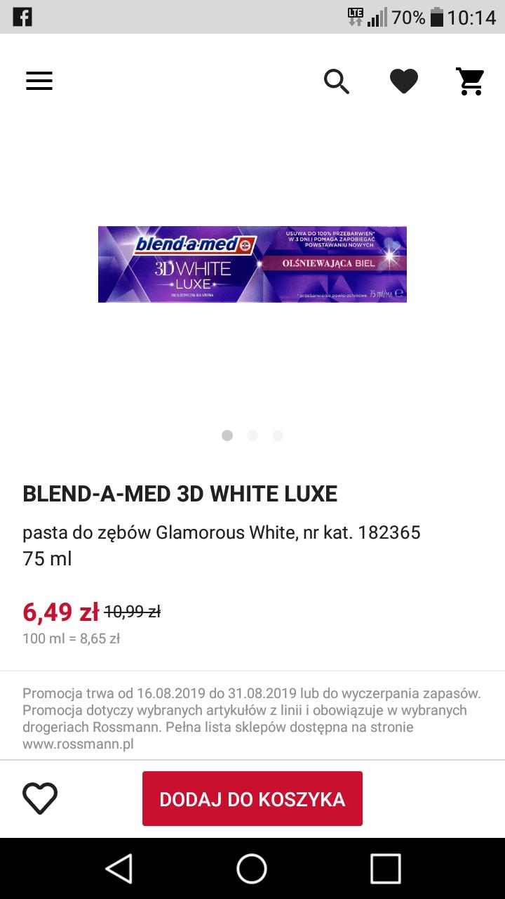 Blendamed 3d white luxe