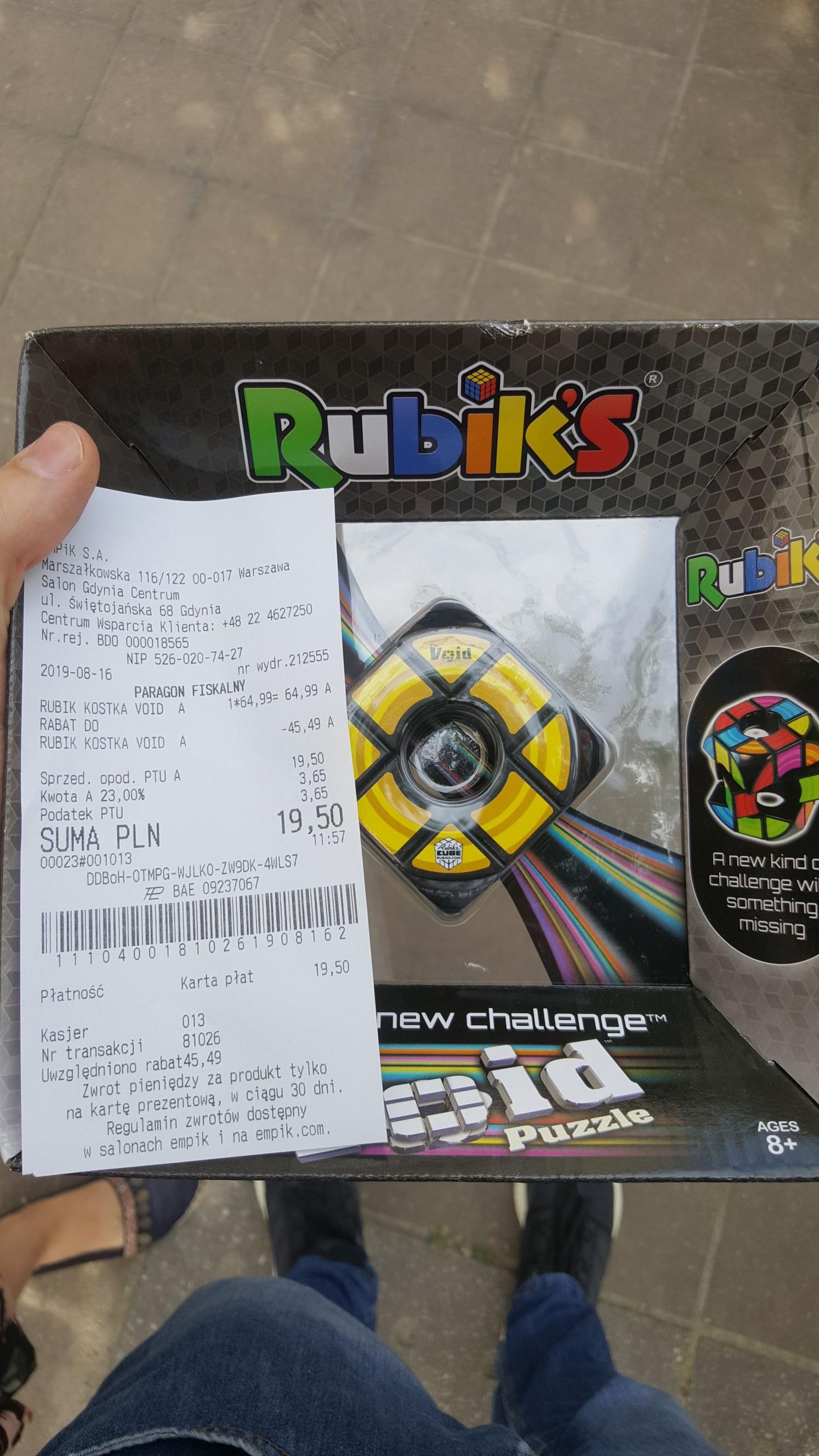 Kostka Rubika Void - Empik Gdynia