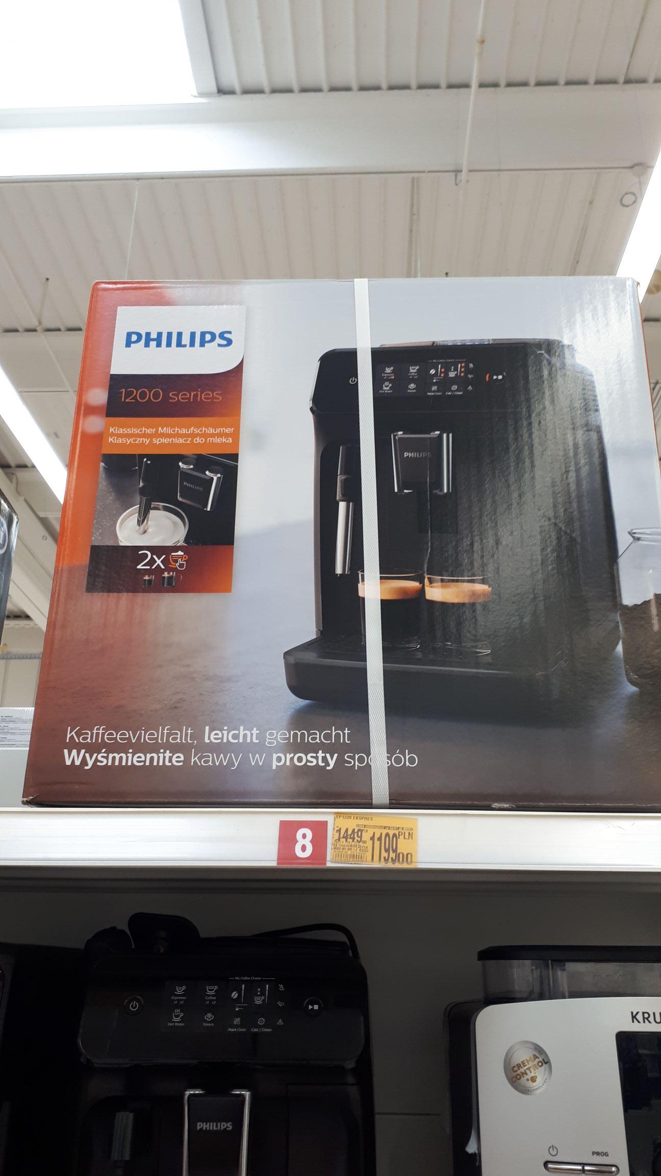 Ekspres Philips ep1220 Auchan Łódź CH Tulipan