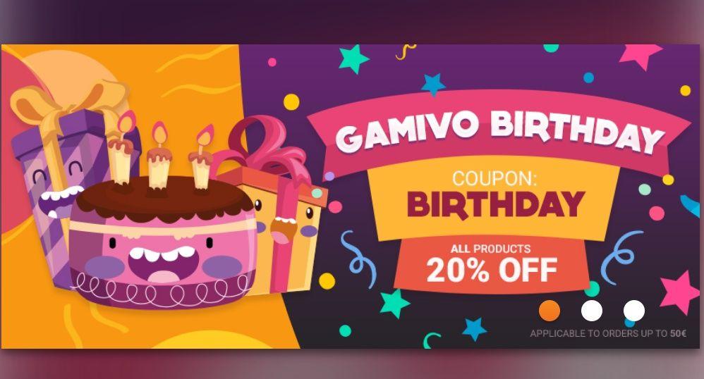 Gry 20% taniej @GAMIVO
