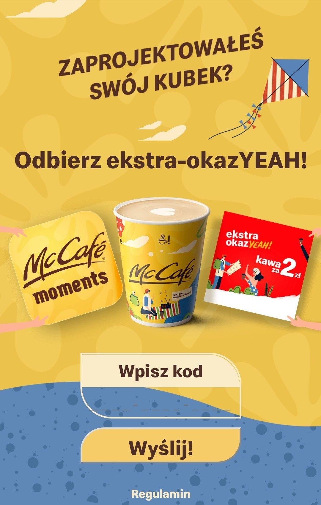 Kawa McCafe za 2zł w esktra okaz-YEAH