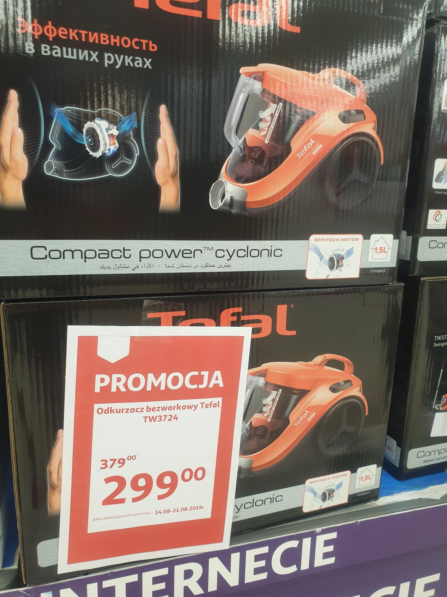Odkurzacz Tefal TW3724 Auchan