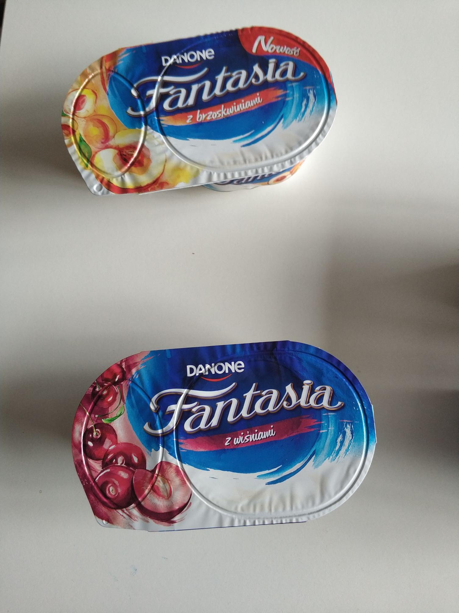Danone Fantasia deser jogurtowy Auchan M1 krakow