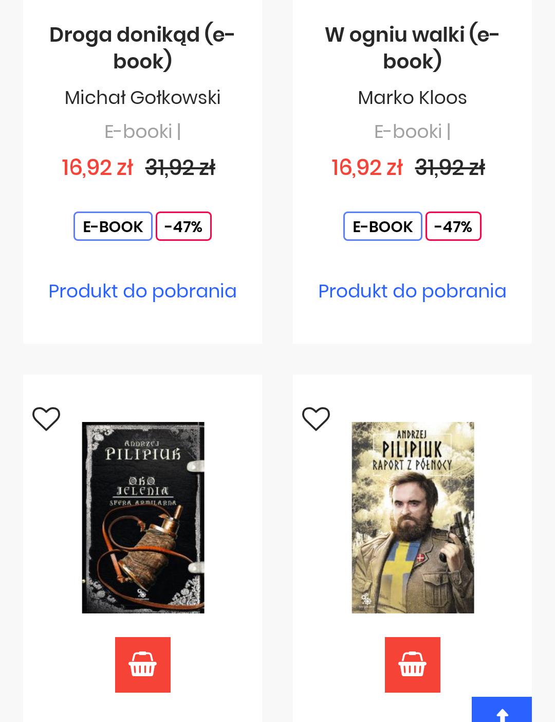 Ebooki Fantastyka, MAG, Fabryka Słów