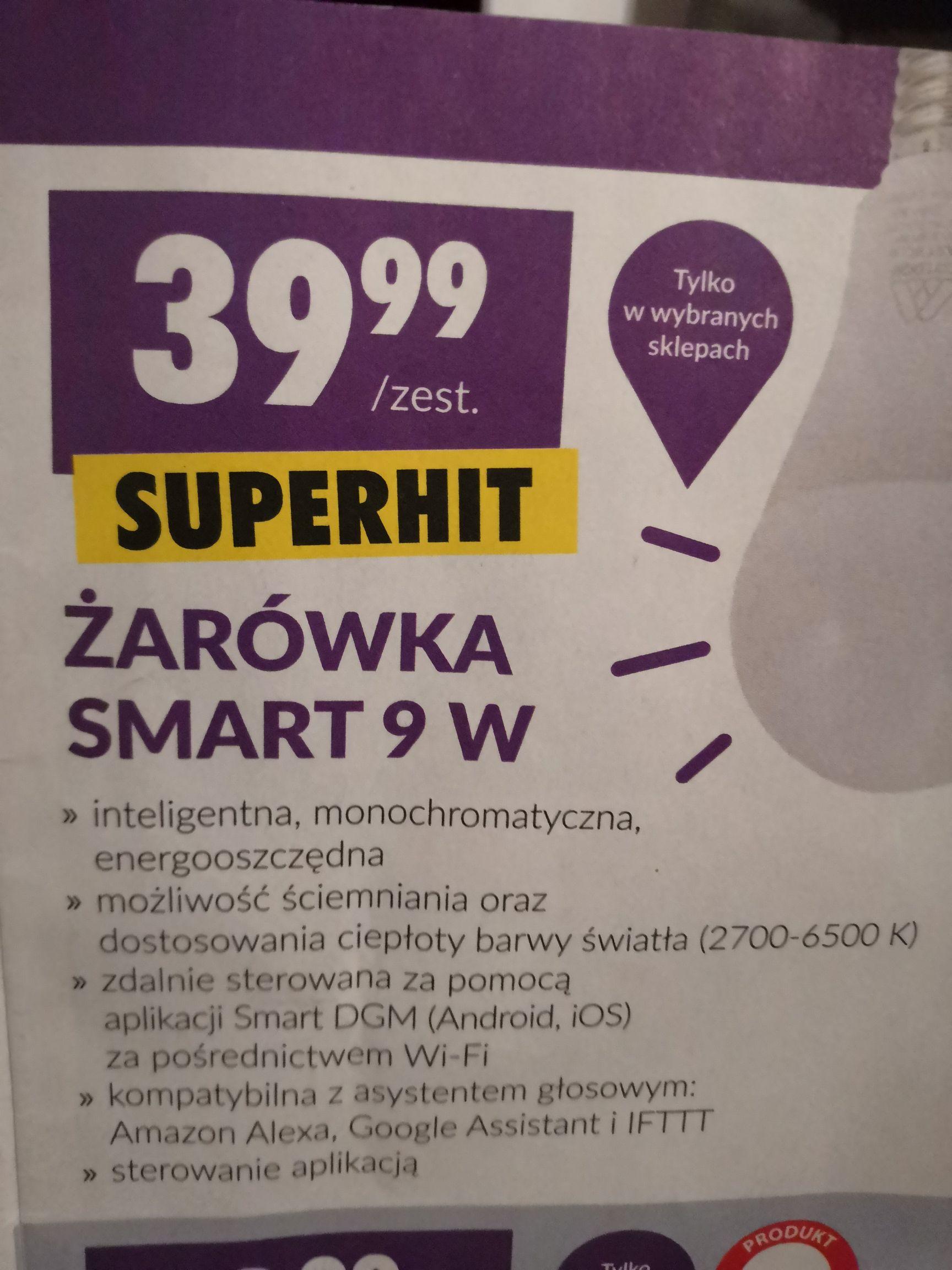 Żarówka smart 9W