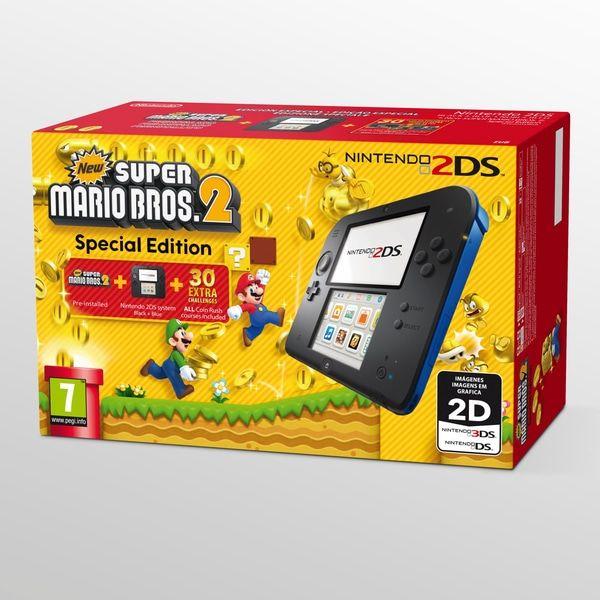Konsola Nintendo 2ds(New Super Mario Bros 2 Bundle)