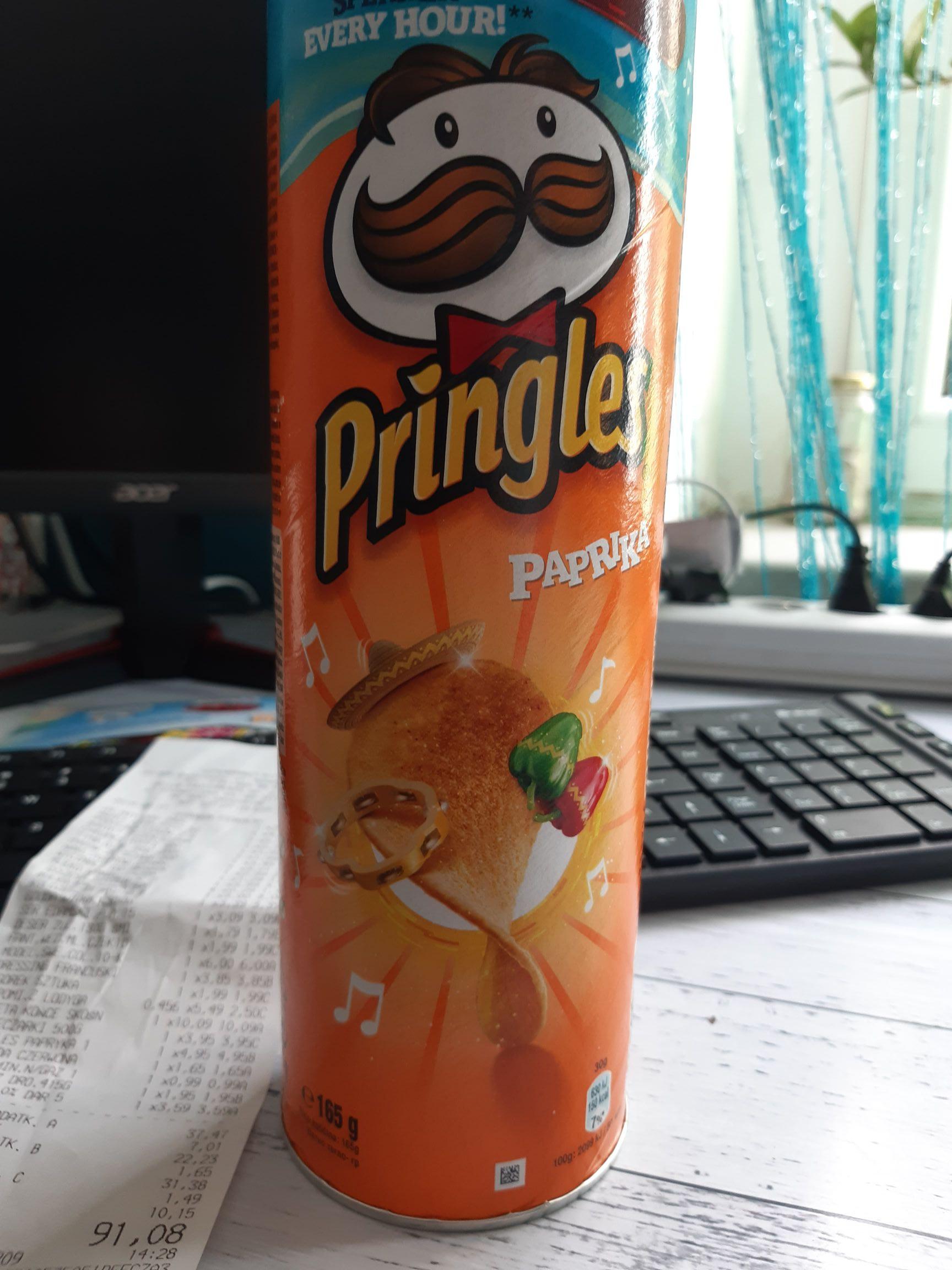 Pringles  Paprika Bi1