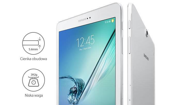 Tablet SAMSUNG Galaxy Tab S2 9.7 LTE 3/32GB SM-T819NZWEXEO biały / czarny
