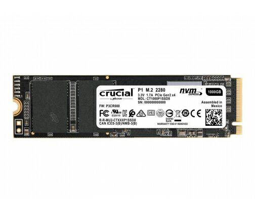 Crucial 1TB M.2 PCIe Gen3 x4 NVMe P1 @ x-kom
