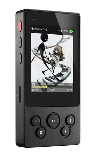 """Odtwarzacz HiFi Xduoo X3II 2.4"""" - Audio Jack + Bluetooth 4.0 DSD, Apt-X, DAC AK4490"""