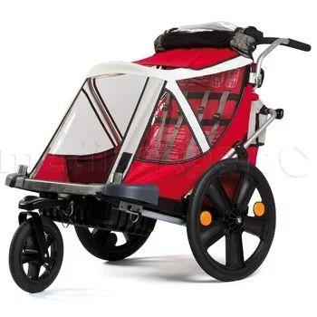 Przyczepka rowerowa BELLELLI City Czerwony