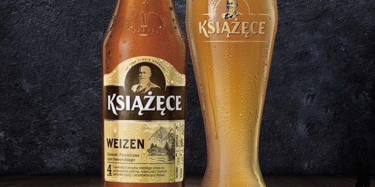 Piwo Książęce Weizen - Tesco