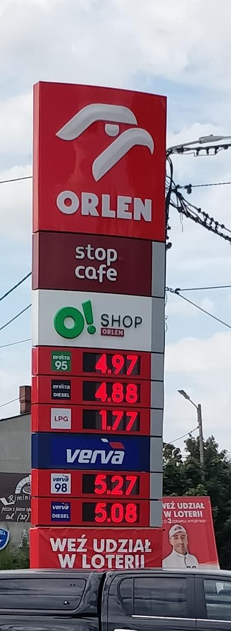 ORLEN paliwo w dobrej cenie (LPG) - KATOWICE