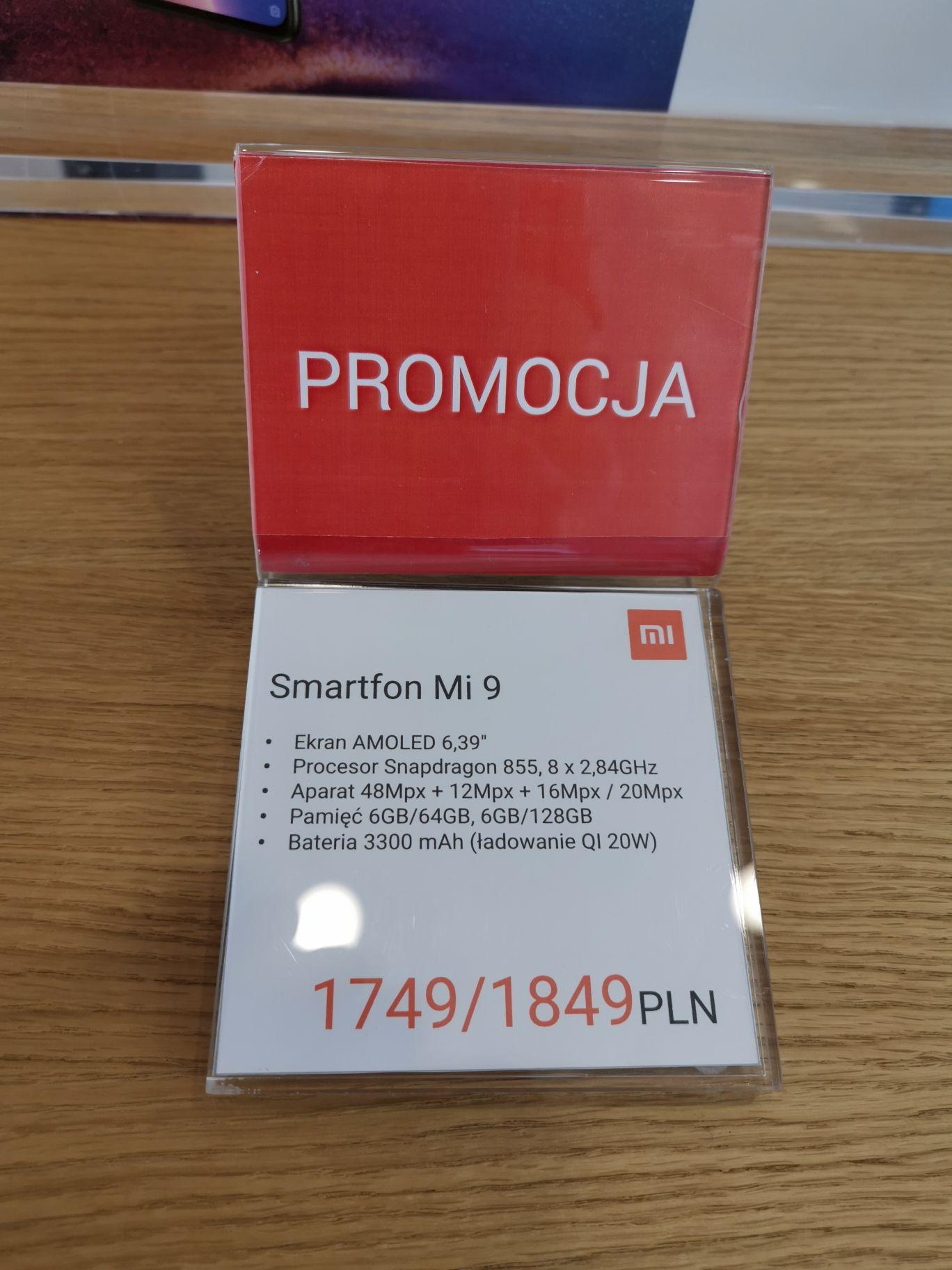 Xiaomi mi 9 6/128 i 6/64