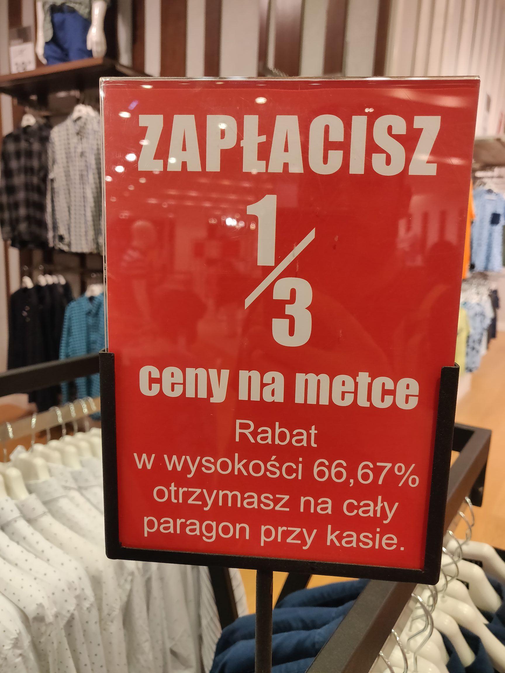 Carry - likwidacja kolekcji rabat 66.67% na paragon [Renoma Wrocław]