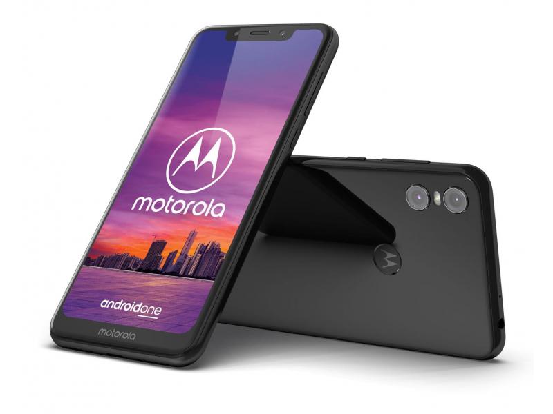 Motorola One 4/64GB Dual SIM kolor czarny i biały + etui @x-kom