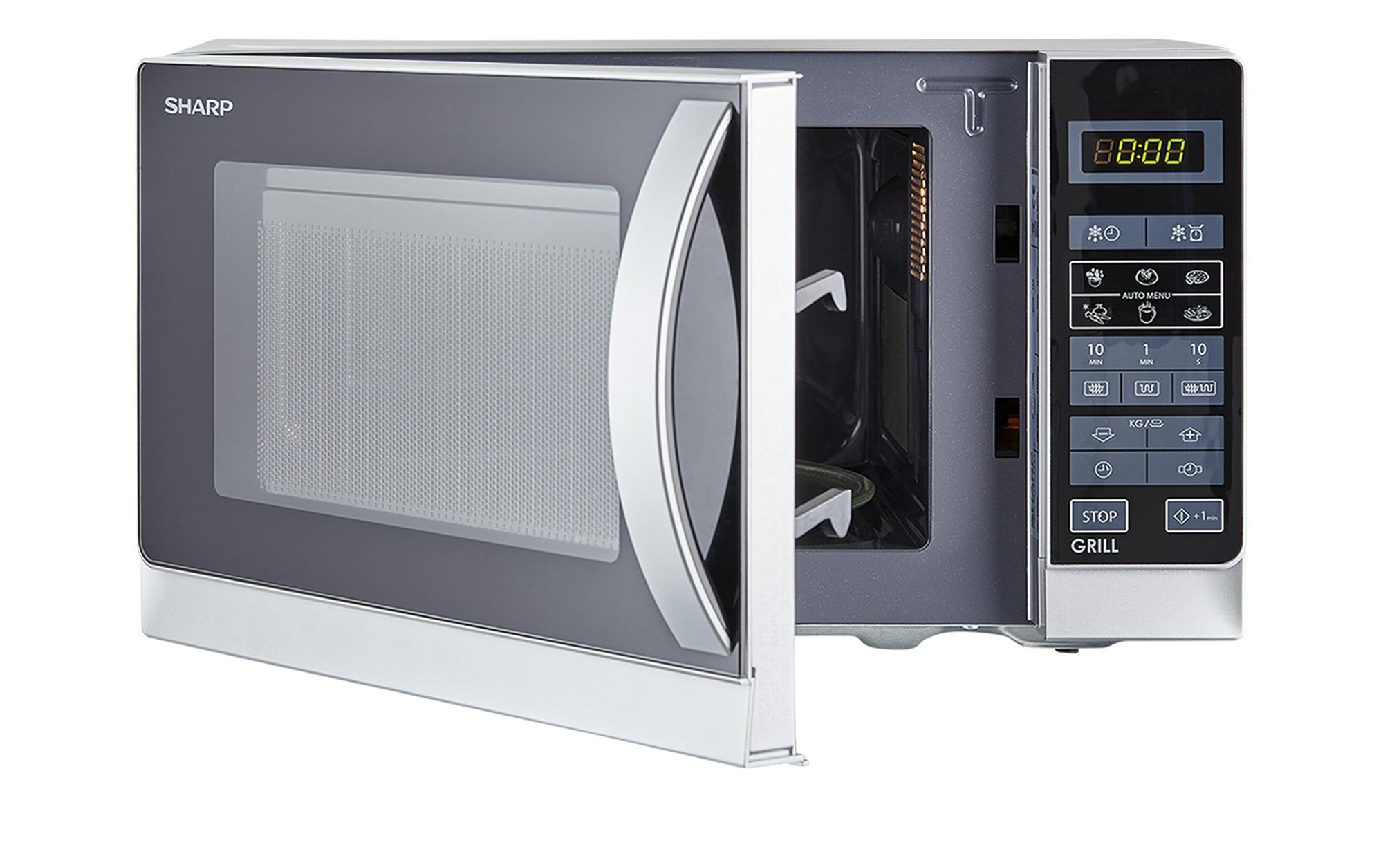 Kuchenka mikrofalowa Sharp R642INW, 20L, 800W, 1000W grill- kwarcowy,