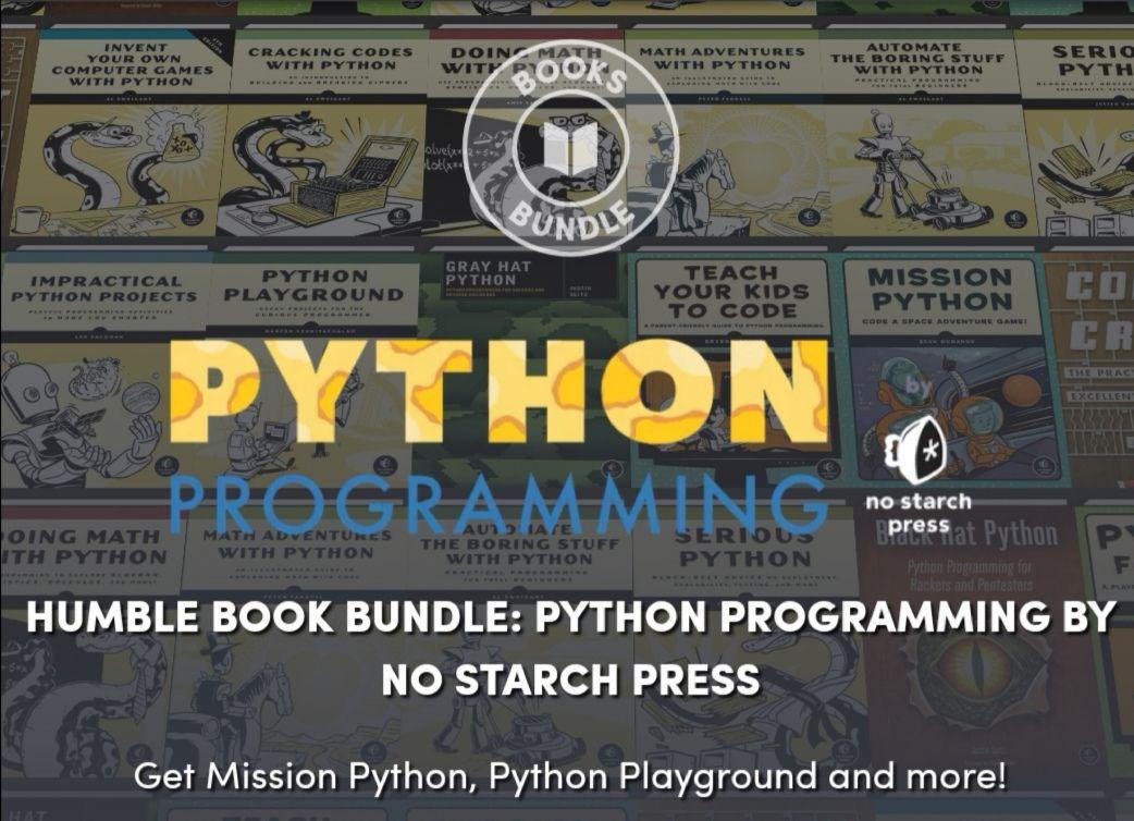 The Humble Book Bundle: Python Programming by No Starch Press
