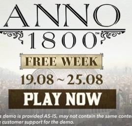Anno 1800 - darmowy tydzień