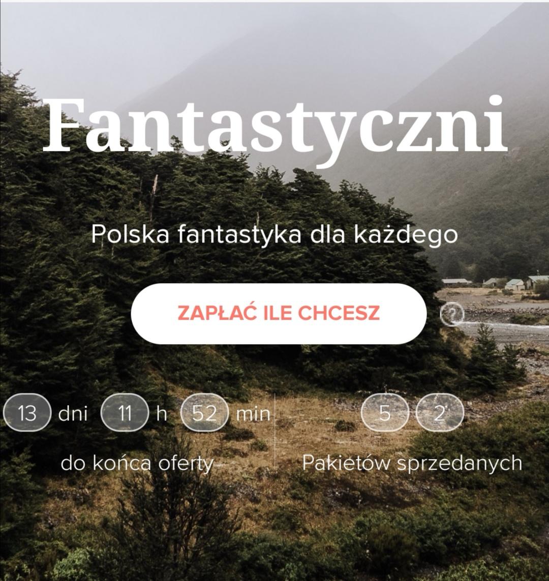 Polska fantastyka - zapłać ile chcesz @ Bookrage