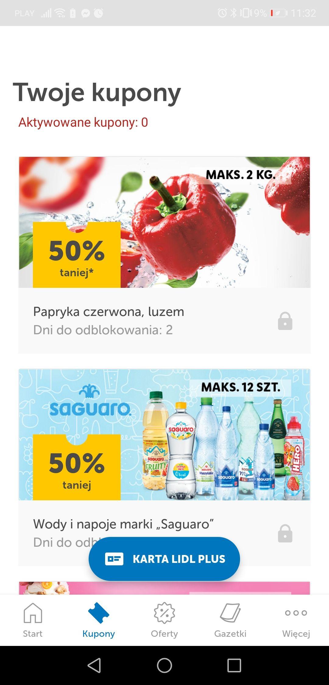 Papryka - 50% w Lidlu