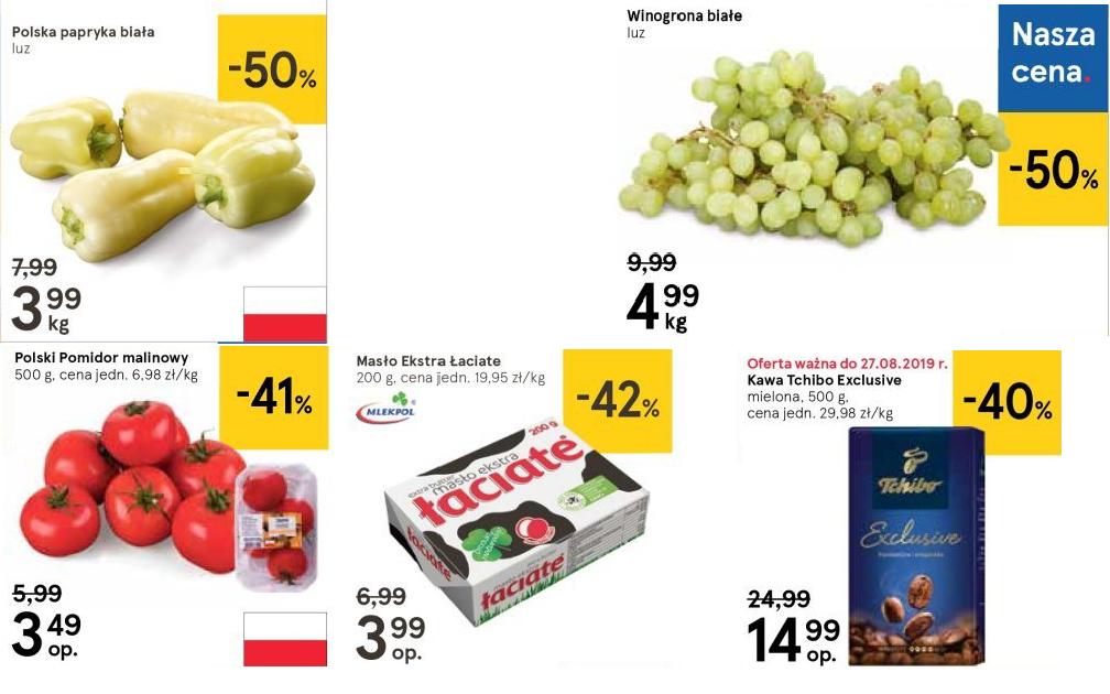 Papryka biała Polska i inne dobre oferty @Tesco