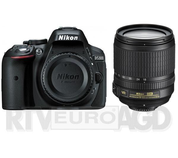Nikon d5300 + Nikkor 18-105mm