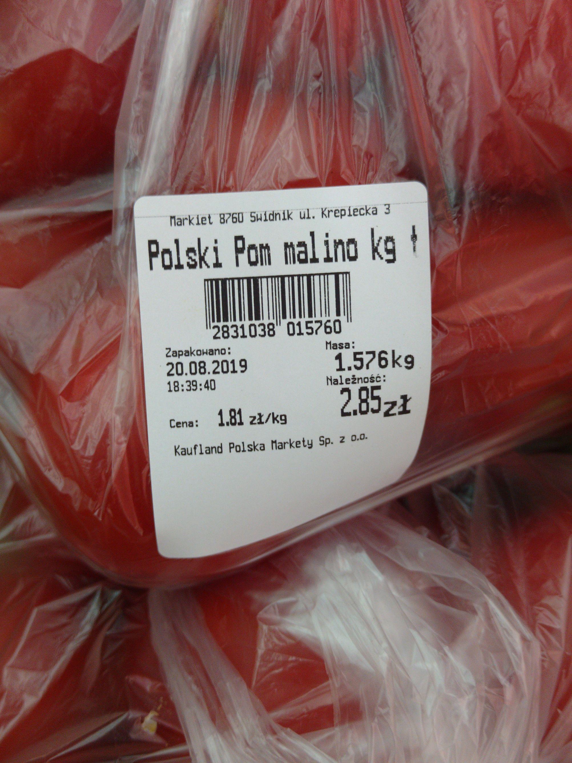 Pomidory Malinowe Kaufland Świdnik