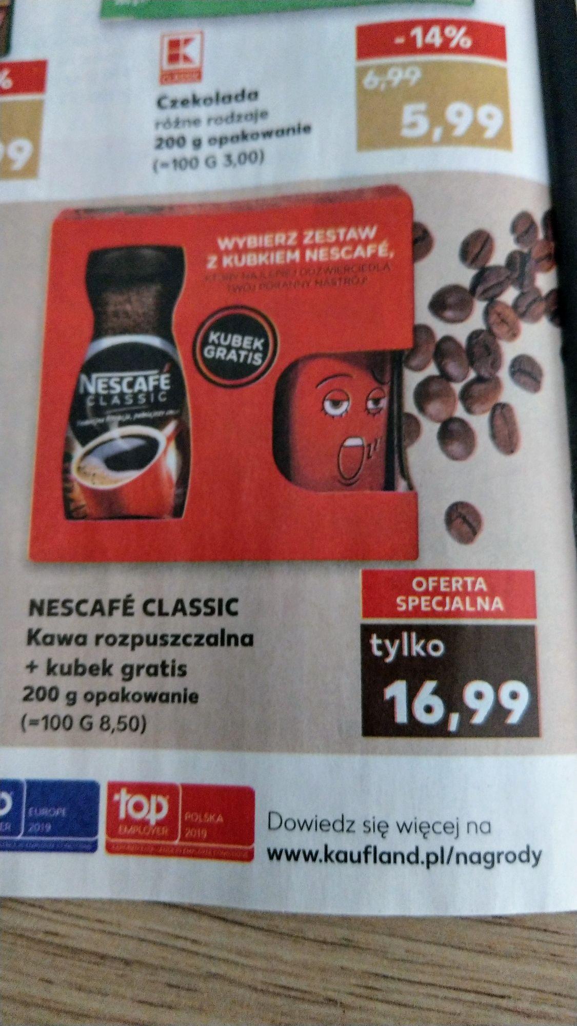 Kawa rozpuszczalna Nescafe Classic + kubek - Kaufland