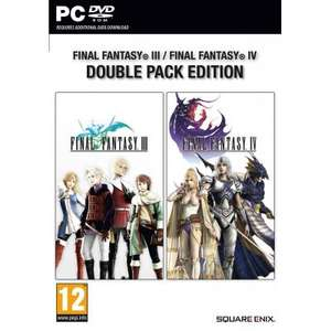FINAL FANTASY III/ FINAL FANTASY IV DOUBLE PACK EDITION PC