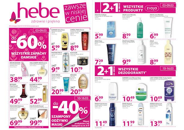 -40% na wszystkie szampony, odżywki i maski