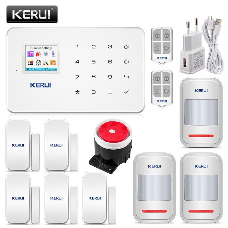 System alarmowy, bezprzewodowe dzwonki i kamera Kerui