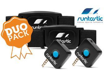 Dwupak monitorów tętna z odbiornikami do smartfona Runtastic RUNDC2 @iBood