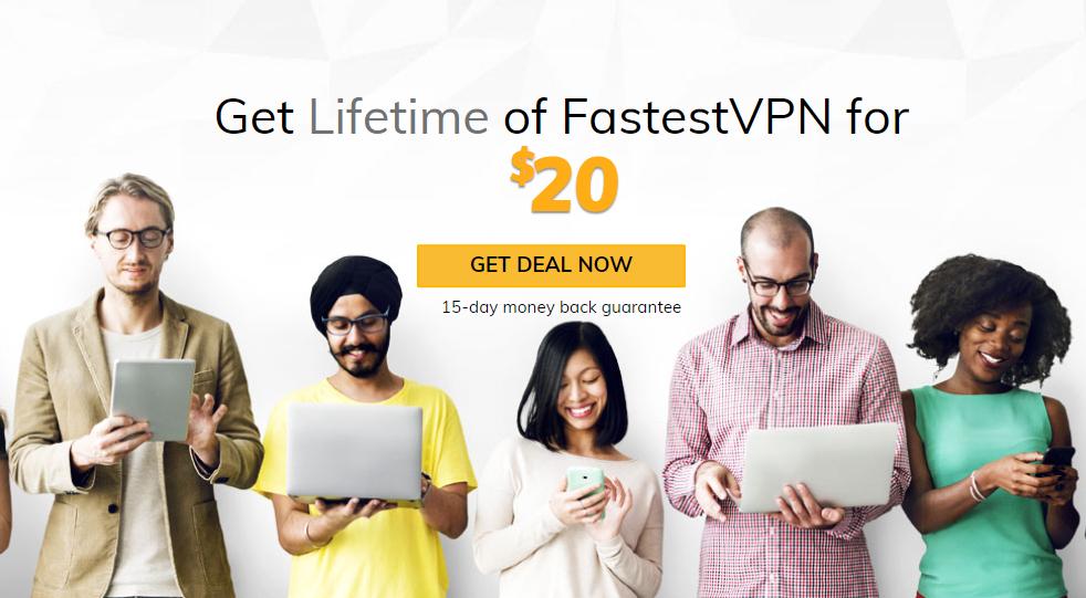 FastestVPN dożywotni abonament (10 urządzeń) za $20