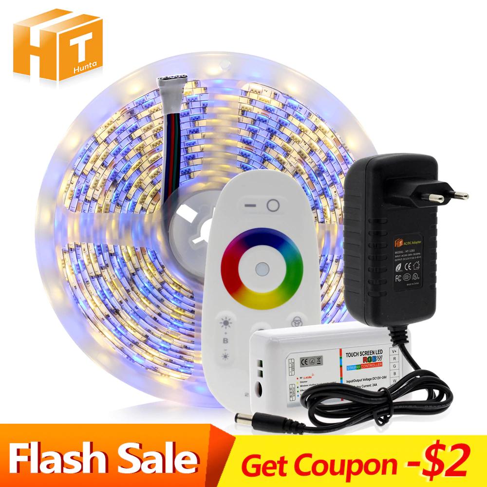 5m (5050 LED) wodoodporna taśma LED RGB (oraz RGBW i RGBWW)