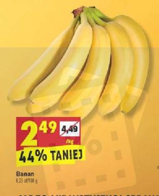 Banany Biedronka
