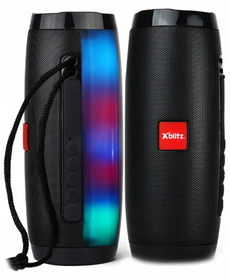 Głośnik Bluetooth Xblitz Fun 2x5W LED microSD