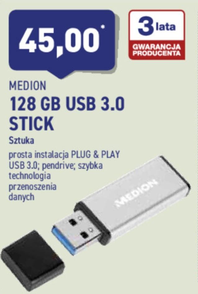 Tani  duży  pendrive  LENOVO MEDION  3.0 128GB