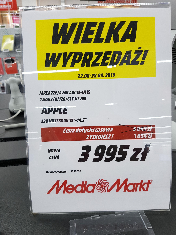 Akcja w MediaMarkt MacBook Air