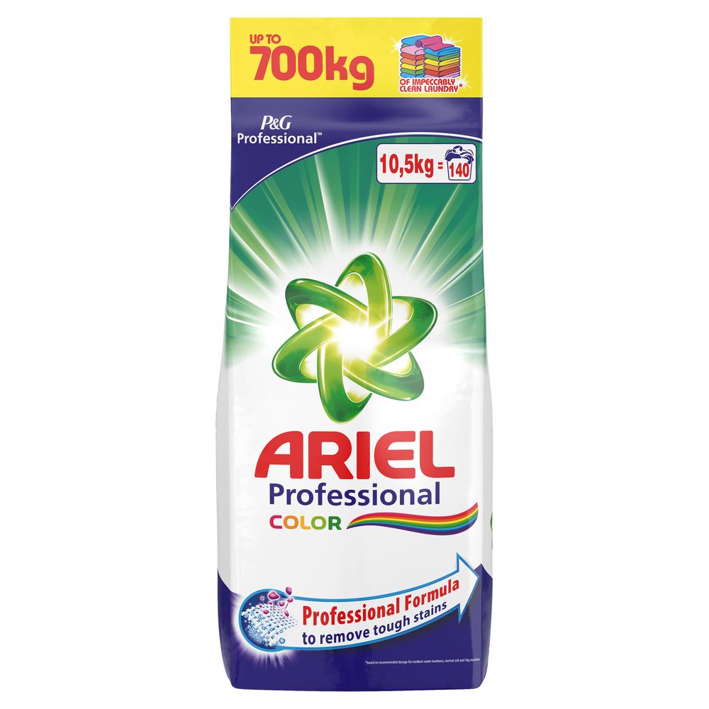 Proszek do prania ARIEL PROFESSIONAL COLOR  10,5KG , 140 prań,  również do białych tkanin, dostawa 0zł