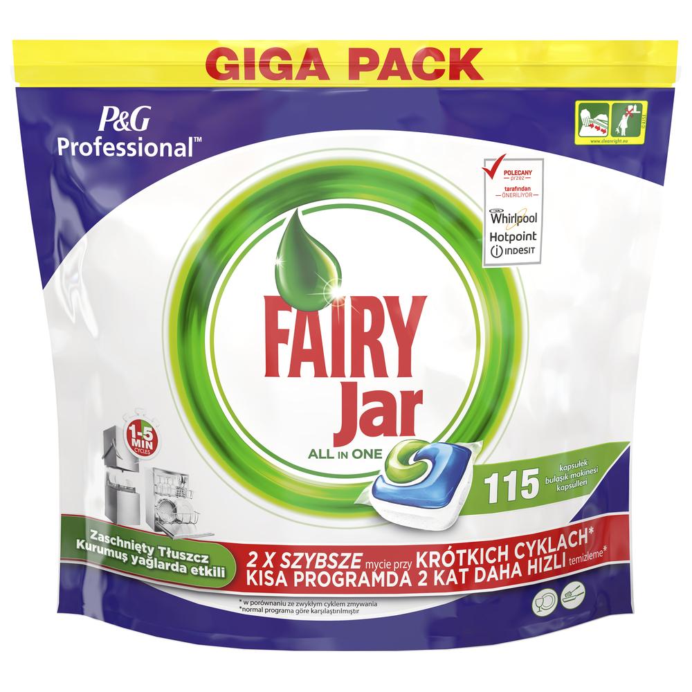 Kapsułki do zmywarki  FAIRY Jar Professional 115 SZT, dostawa darmowa