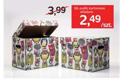 Kolorowe pudło kartonowe za 2,49zł @ Agata Meble