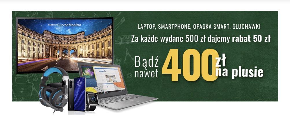 Do 400zł rabatu na NEO24.pl 50/500