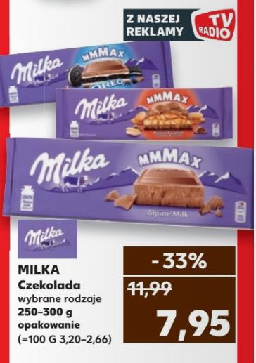 Duże czekolady milka w @Kaufland